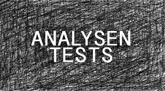 Analysen/Tests – holen Sie sich Ihr Profil – rasch verfügbar